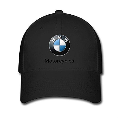 Adjustable BMW Logo Motorcycles Baseball Cap Running Cap Black (Bmw Motorrad Communication System For Schuberth C3)