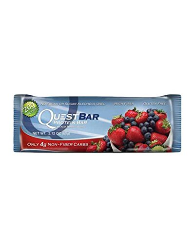 quest protein bars mixed berry - 6