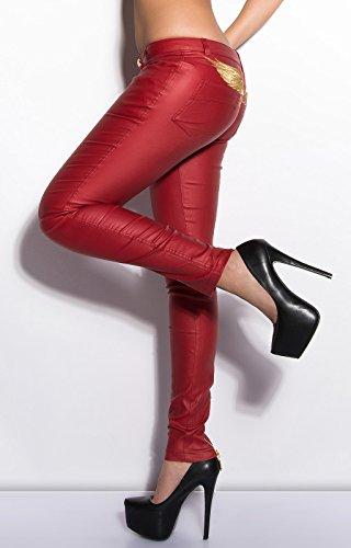 Koucla - Pantalón - para mujer Rosso
