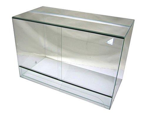 Terrarium 120x60x120 cm mit Schiebetür, Glasterrarium, Schlangen Bartagamen Gekkos