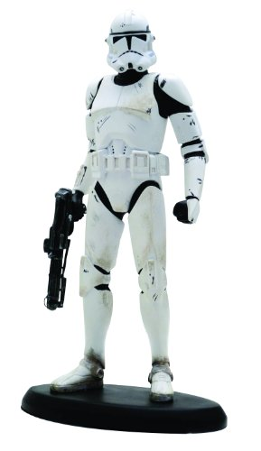evenge of The Sith: Clone Trooper Classic Statue (1:10th Scale) (Adult Clone Trooper Commander)