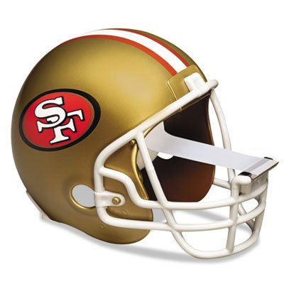 Scotch Magic Tape Dispenser, San Fransico 49ers Football Helmet with 1 Roll of 3/4 x 350 Inches Tape
