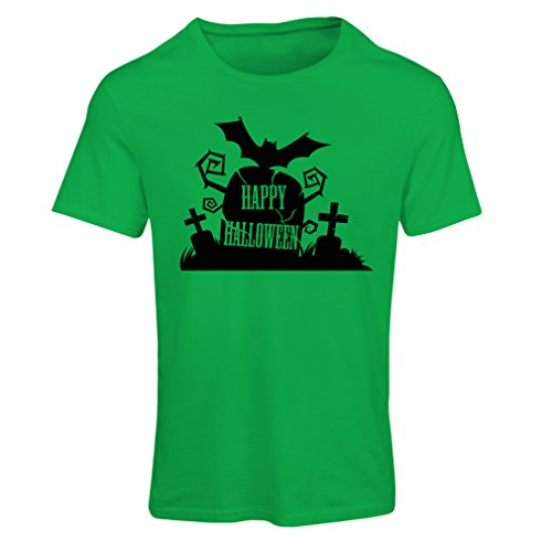 T Shirts for Women Halloween Graveyard Outfits - Costume Ideas - Cool Horror Design - All Saints' Eve - All Hallows' Evening (Medium Green Multi (Ridiculous Dog Costumes)