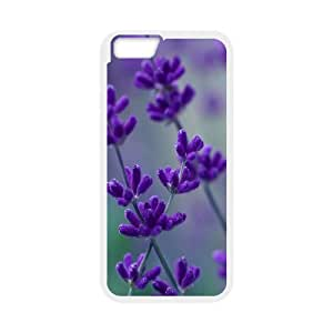 [Funny Series] IPhone 6 Case Flower 167, Cell Phone Case for Iphone 6 Okaycosama - White