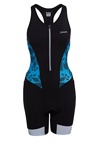 ZOOT SPORTS Women's Ultra Tri Racesuit, Small, Maliblue Island