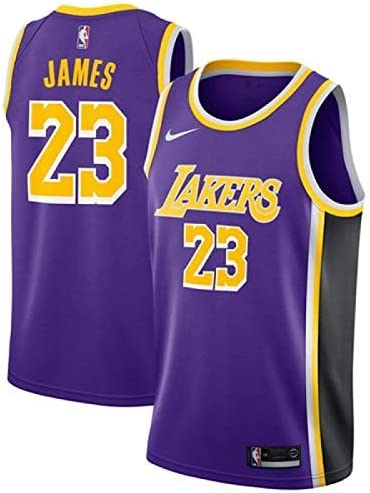 Lalagofe Lebron James, Los Angeles Lakers #23 Basket Jersey