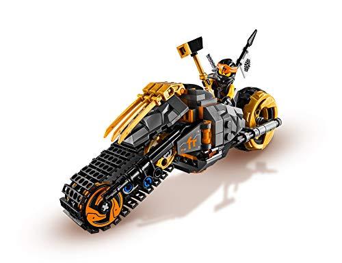 LegoNinjago70672 Coles Offroad-Bike, Bauset 4