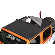 Rampage Jeep 94935 JK Combo Brief Black Diamond Soft Top