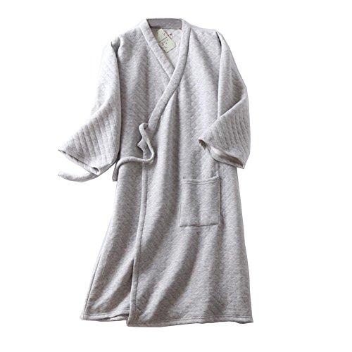 Notte b Pumpkin Cotone In Cotone Color Accappatoi Fancy Camicia Da Giapponese Uomo PxzAq1