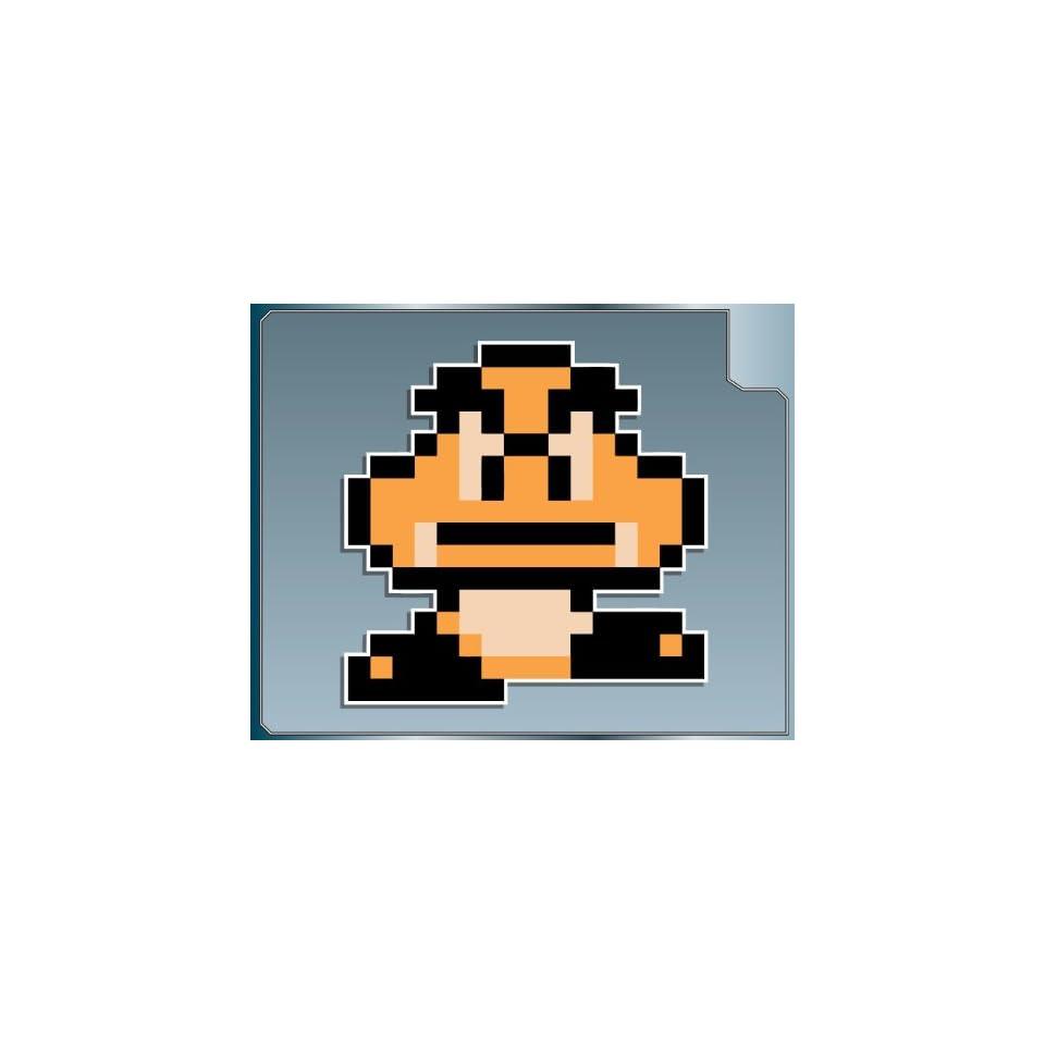 GOOMBA 8Bit from Super Mario Bros. 3 vinyl decal sticker