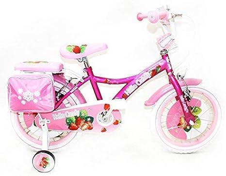 Reset - Bicicleta de niña New Hello Candy 14 Rosa Cesta incluida ...