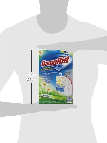 075919001837 - DampRid Hanging Moisture Absorber, Fresh Scent, 14 oz bags, 3 ea ( Pack of 6) carousel main 4