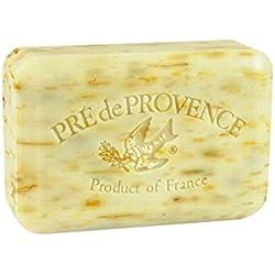 Pre de Provence Shea Butter Enriched Artisanal French Soap Bar (250 g) - Angel's Trumpet