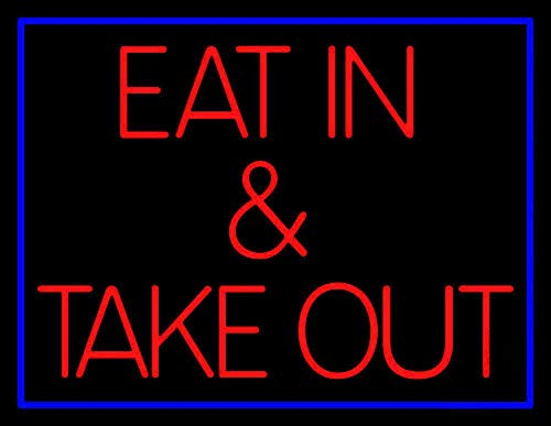 (Neon Sign Professional EAT in & TAKE Out for Man Cave Room Bedroom Wall Decor, 17