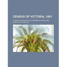 Census of Victoria, 1881
