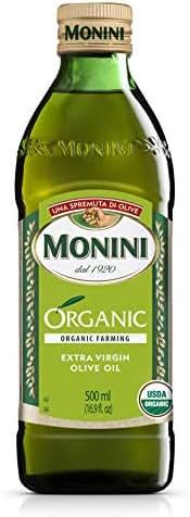 Olive Oil: Monini Organic Extra Virgin Olive Oil