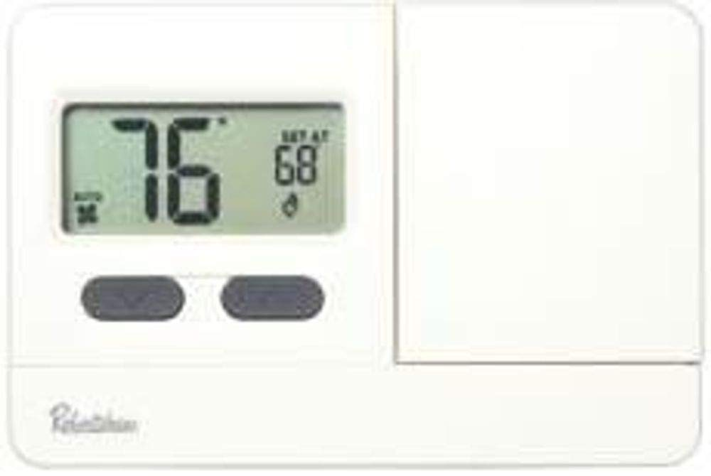 Robertshaw RS2110Non-Programmable Thermostat, 1 Heat/1 Cool, 3 VDC