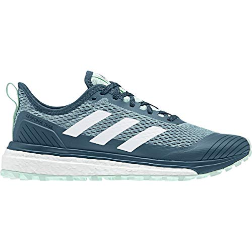 adidas New Women's Response Trail Running Shoe Teal/White 8