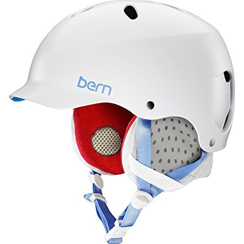 Bern Lenox MIPS Helmet - Satin White/Grey Liner Small