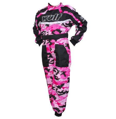 Wulfsport Kids camuflaje Mono de traje de carrera Motocross LT PW Karting niño Wulf nuevo, rosa, JUNIOR L (9-10 YRS) : Amazon.es: Deportes y aire libre