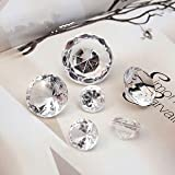 1728pcs Mixed Sizes gems confetti Culet Faceted Crystal Diamond
