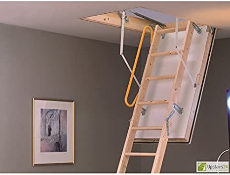 Escalera escamoteable con aislamiento Minka Polar Extrem: Amazon.es: Bricolaje y herramientas