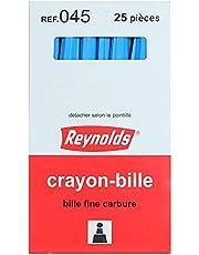 Reynolds Ball Point Pen, 25 Pieces - Blue