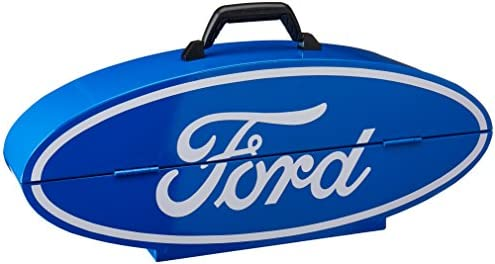 Goboxes F1000V Ford Shape Portable Tool Box – Blue