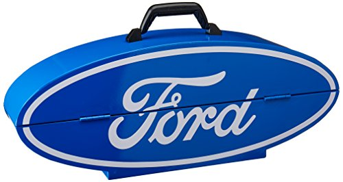 Goboxes F1000v Ford Shape Portable Tool Box   Blue