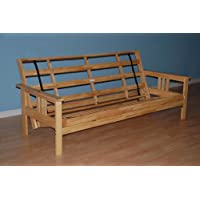 Monterey Futon Frame in Natural Finish