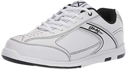 KR Strikeforce M-035-070 Flyer Bowling Shoes, White/Black, Size 7