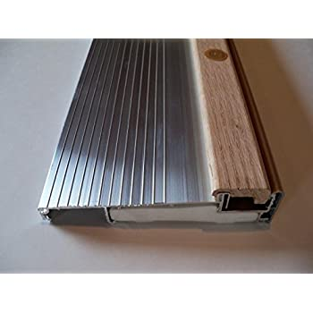 Inswing Door Threshold With Composite Base 3 39 36 Aluminum Mill 5 5 8