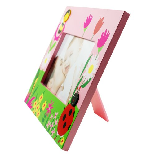 Ladybug 4''x6'' Picture Frame by Puzzled (Image #1)'