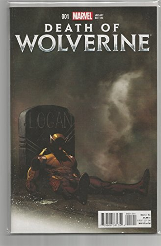 Death of Wolverine #1 RI Mortal Variant Cover