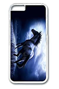 iPhone 6 Case, 6 Case - Anti-Scratch Clear Hard Case Cover for iPhone 6 Dark Horse Full-Body Protective Crystal Clear Hard Case Bumper for iPhone 6 4.7 Inches