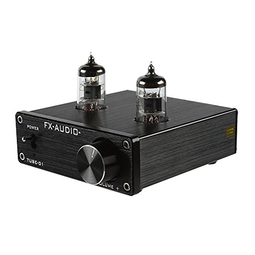 Douk Audio Mini 6J1 Valve & Vacuum Tube Pre-Amplifier Stereo HiFi Buffer Preamp