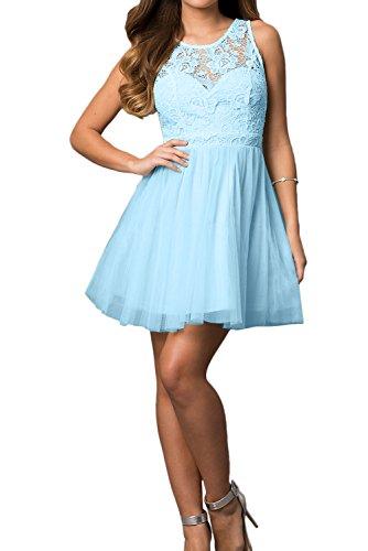 Ivydressing - Vestido - trapecio - para mujer azul-1