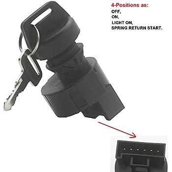 kipa ignition key switch for polaris ace 570 900 outlaw 100 ranger 400 500  570 800 rzr 4 800 570 scrambler sportsman 550 500 se xp atv replace oem #  4012166