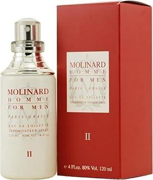 Homme Ii By Molinard Eau De Toilette Spray 120ml Amazoncouk Beauty