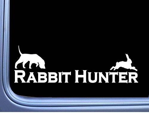 Rabbit Hunter Beagle J901 8 inch decal hunting dog box vest