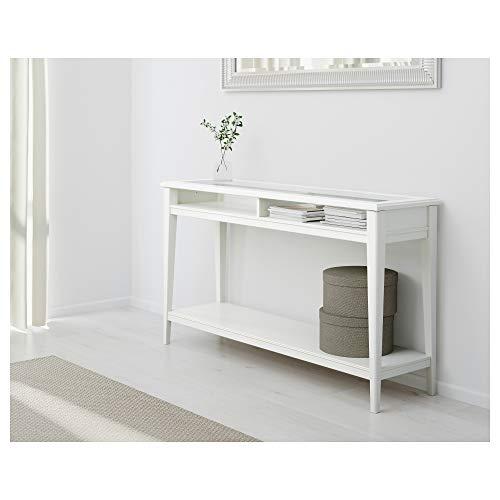 IKEA.. 001.050.64 Liatorp - Mesa Consola (Cristal), Color Blanco