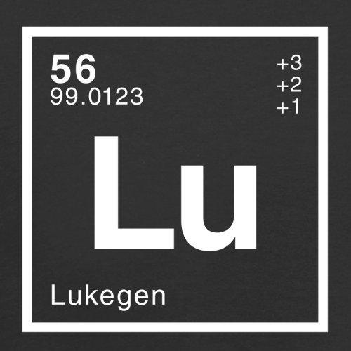 Luke Periodensystem - Herren T-Shirt - Schwarz - XXL