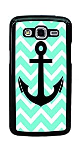 Hard Case for Samsung Galaxy Grand 2 G7105 G7106 (chevron anchor boat)