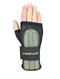 Seirus Innovation 5660 Jam Master Exo Under Glove Wrist Protection to Prevent Injuries