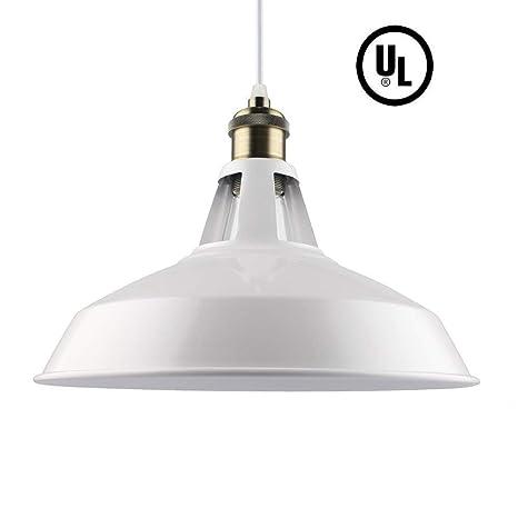 Pantalla Con Techo De Aluminio Retro Lámpara MetalEstilo Yf6gbv7y
