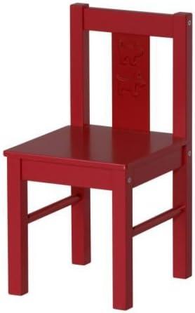 IKEA KRITTER - Niños-s silla, rojo: IKEA of Sweden: Amazon.es: Bebé