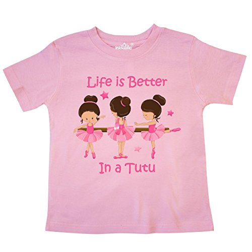 inktastic - Life's Better in A Tutu KS Toddler T-Shirt 5/6 Pink 2bf6c