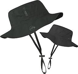 Mammut Men\'s Drytech Hat Machu (Graphite, Large-X-Large)