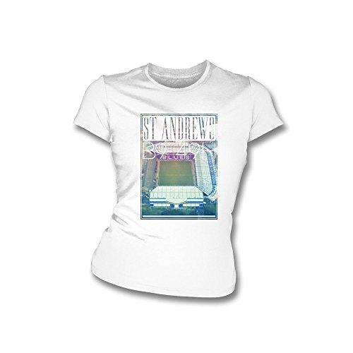 PunkFootball Huddersfield halten das Glauben-T-Shirt, Farbe- Königsblau