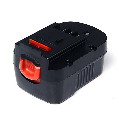 Masione 14.4V 2.0Ah Power Tool Replacement Battery for Black & Decker 499936-34 499936-35 A14 A144EX A14F HPB14 Firestorm A14 FS140BX
